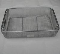 Food Wire Mesh Basket/Strainer Stainless Wire Mesh Baskets For Bakery