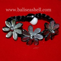 seashell bracelet from bali indonesia