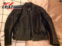 MAN MOTOR BIKE SHEEPSKIN LEATHER JACKETS 100% REAL GENUINE IN VERY CHEAP PRICE HIGH QUALITY