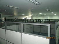 Office Partition ## Glass and Fabric Partition