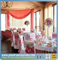 Wedding Event Supplies Portable Decor pipe drape backdrop event wedding wholesale pipe and drap