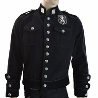 NEW 2015 GOTHIC MENS JACKET SHRINE ROYAL MARINE ROCKSTAR PIRAT ARMY GOTHIC VAMPIRE COAT JACKET STEAMPUNK