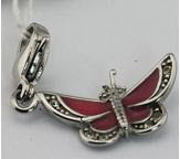Ss Enamel Butterfly Key Chain Varieties With Colors Attractive