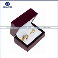 nice ring wooden box for couples