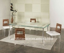 Modern Acrylic Table and Chairs, Perspex Dinning sets