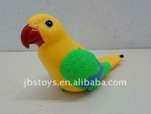 plastic pull string cartoon colourful bird in OPP bag packing