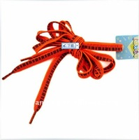 Fashion cool red key tying shoelaces patterns for 1 USD store buy shoelaces funky shoe lace