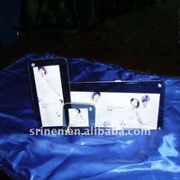 step acrylic photo album clear lucite picture frame