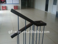 WPC handrails,wpc products,wood plastic composite