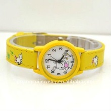 fashion kids cartoon rubber wrist best kids popular watches give away gifts