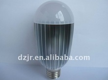 E27 AC 85 ~ 265V 8W Warm White LED Ball Globe Light Lamp Bulb