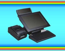 Dual Screen POS with card reader,printer