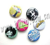 promotional tinplate button badge,pin badge