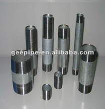 carbon steel electric galvanized hose nipples