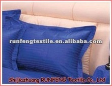 T/C Multicolored Hotel Sateen Pillow Sham/Pillow Case/Cushion Royal Blue