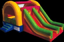 professional inflatable dinosaur slide
