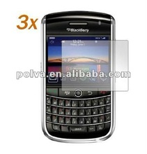 Crystal Clear Screen Protector Accessory and Cloth for Blackberry Tour 9630