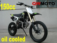 New oil cooled 150cc 2 valves dirt bike