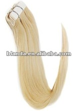Long Style AAA 100% Malaysian Virgin Remy Tape In Hair Extension