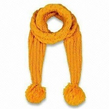 2012 stylish knitted winter scarf