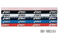 Promotional flat elastic hair bands