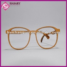 Fashional wooden glasses frame ornament