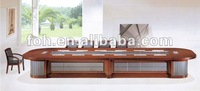 Modern Manager Conference Table High quality hardware+Mahogany wood table(FOHH-8002)