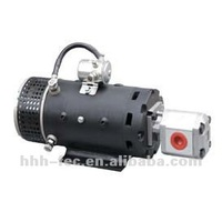 hydraulic DC motor gear pump group for hydraulic system