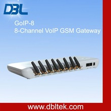 8 channel gsm voip gateway sip provider/sip trunking goip 8 from DBL