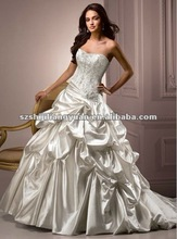 SJ1070 white new design high quality wedding dress wholesale