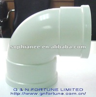 PVC water-supply pipe 90D corner with inspection box