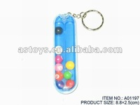 Rolling Ball Key Chain/Promotional Toys for Children/Kids Classic Toys
