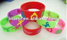 basketball silicone bracelet fashion bracelets hot selling new silicone bracelet