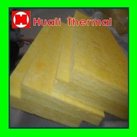 Fire proof and water proof fiberglass wool board for building