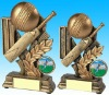 Hotsale Cricket trophy resin figures