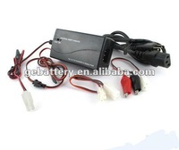 Smart Universal NiMH/NiCD Battery Packs Charger: 2.4V - 7.2V