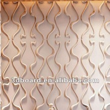 metallic tiles with embossing effect for bedroom