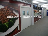 China Cilc professional maunfacturer container coffee shop