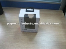 2012 hot product open window color corrugated paper box