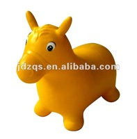 jumping animal toy in inflatable jumping animal horse
