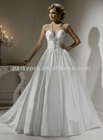 2012 halter elegant bridal wedding dress