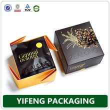 Various size high-grade color printing cartridges folding tea box wholesales