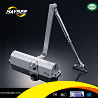 Aluminum floor hinge Hydraulic Auto remote control adjust Door Closer