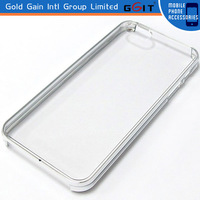 PC Bumper Clear Transparent Case for iPhone 5 without volumen button