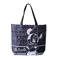 Modern New Design High Quality Black cotton handle paper shopping bag