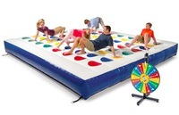Huge Fun Inflatable twister game, Twister game,Inflatable Twister for inflatable sports games
