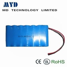 MD battery!!aa 800mah rechargeable battery pack nicd 8.4v
