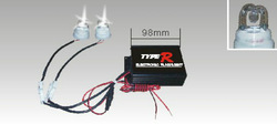 Type R -Car High-A-Way Light Heads, CAR HID STROBE LIGHT (SR-H51040K-2),30W, M Bulbs