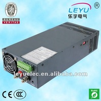 CE RoHS approved 1000w 12v ac to dc transformer SCN-1000-12V 1000w power supply 12v