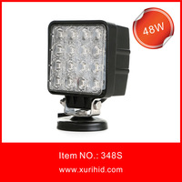 High Power ce rohs 48w led spot work light waterproof led machine work light